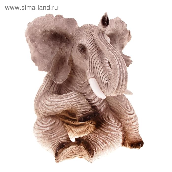 """Сувенир """"Слон"""" серый"""