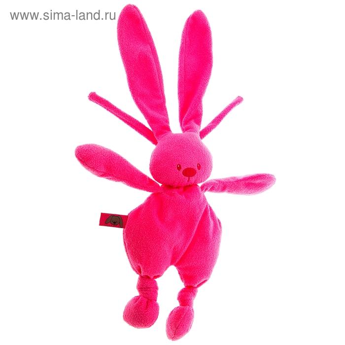 """Музыкальная мягкая игрушка """"Кролик Лапиду"""", цвет розовый"""