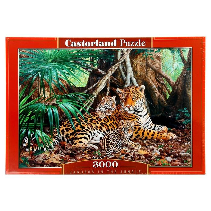 """Пазл """"Ягуары в джунглях"""", 3000 элементов"""