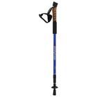 Палка для скандинавской ходьбы телескопическая, 3-х секц, алюминиевая до 135 см