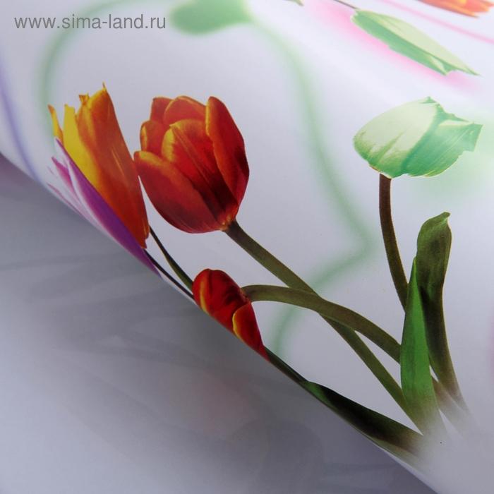 """Бумага упаковочная """"Тюльпаны"""""""