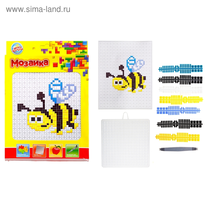 """Мозаика """"Пчелка"""" для детей от 6 лет"""