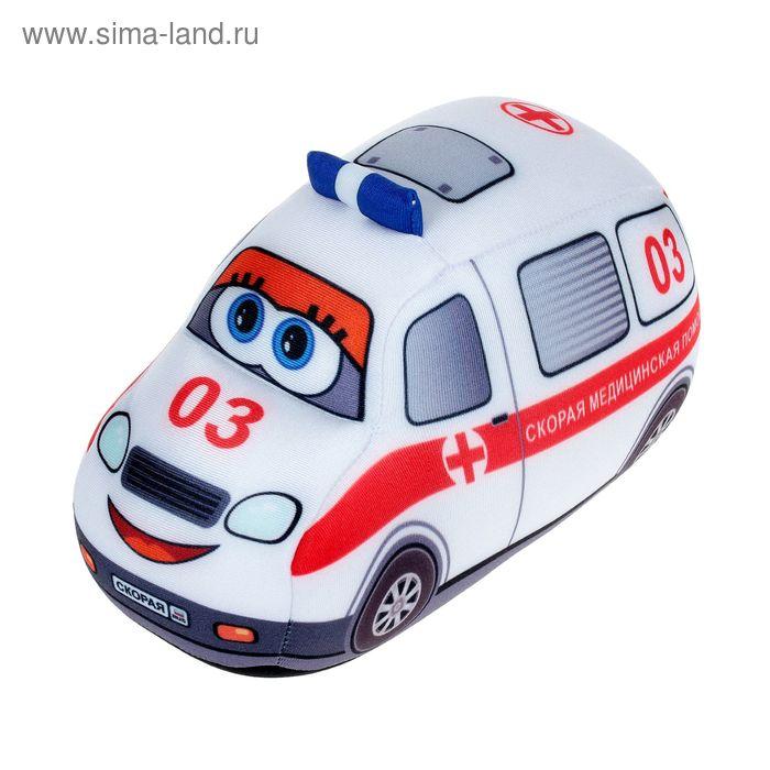 Мягкая игрушка «Служебная машина»