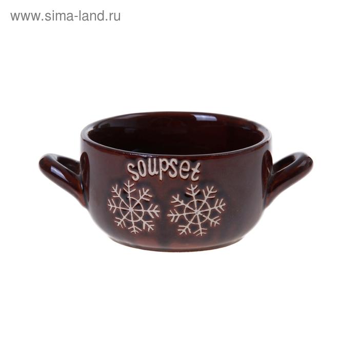 Тарелка суповая в ассортименте, МИКС