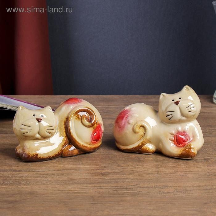 """Сувенир """"Котята"""", в наборе 2 шт"""