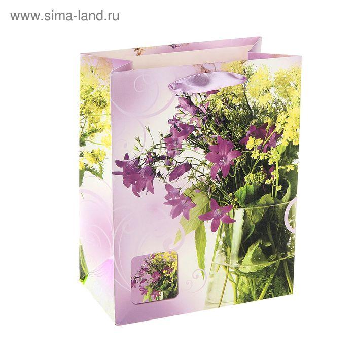"""Пакет ламинированный """"Полевые цветы"""""""