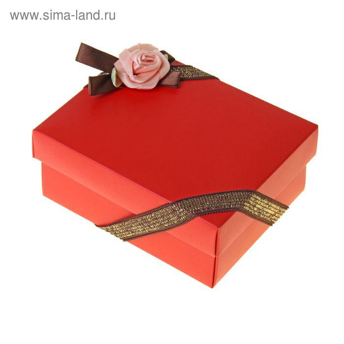 """Коробка-трансформер """"Роза"""", цвет красный"""