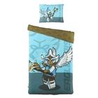 Постельное белье 1,5сп LEGO Chima Eagle голубой, 160*220см, 180*240см, 50*70см 2шт, 120 гр/м, ранфорс