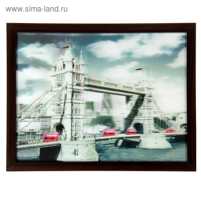"Картина объёмная 3D ""Тауэрский мост"""