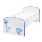 Детская кроватка «Жираф и Бегемот», ЛДСП