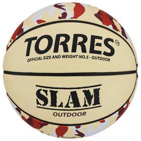Мяч баскетбольный Torres Slam, B00065, размер 5 Ош