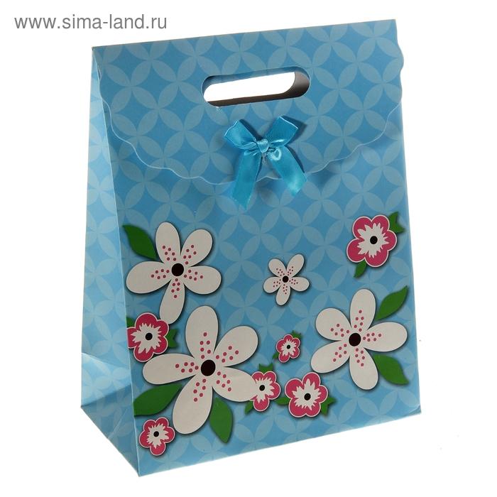 """Пакет с клапаном """"Летние цветы"""""""
