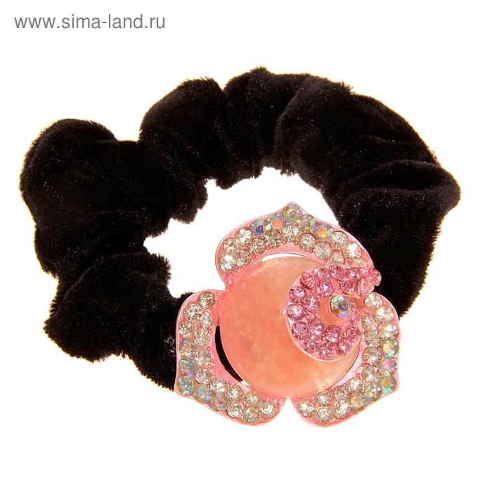 """Резинка для волос """"Камень"""", цветок"""