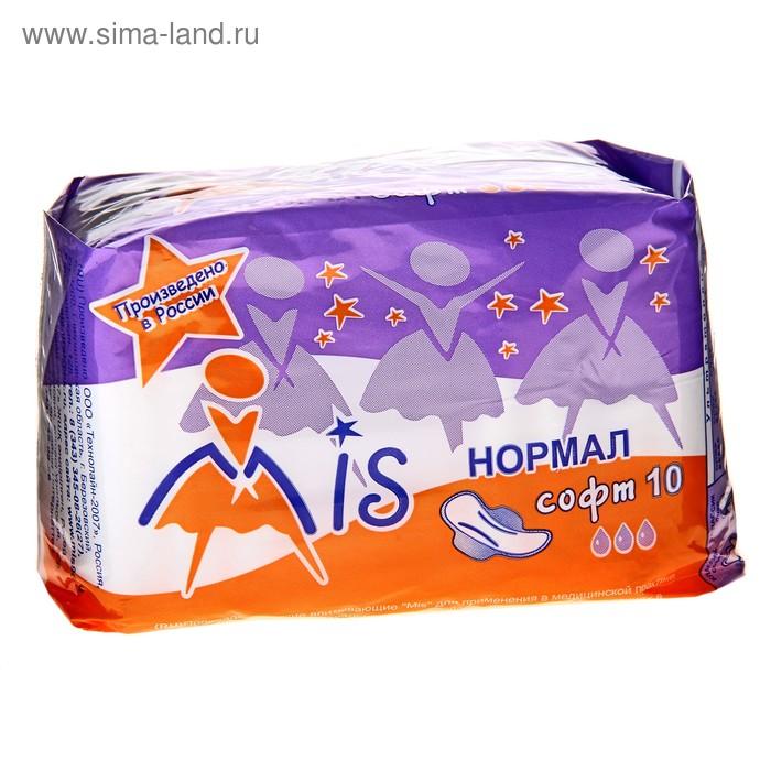 """Прокладки """"Mis"""" Normal Soft, 10 шт"""