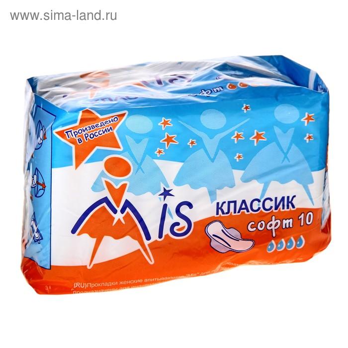 "Прокладки ""Mis"" Classic Soft, 10 шт"