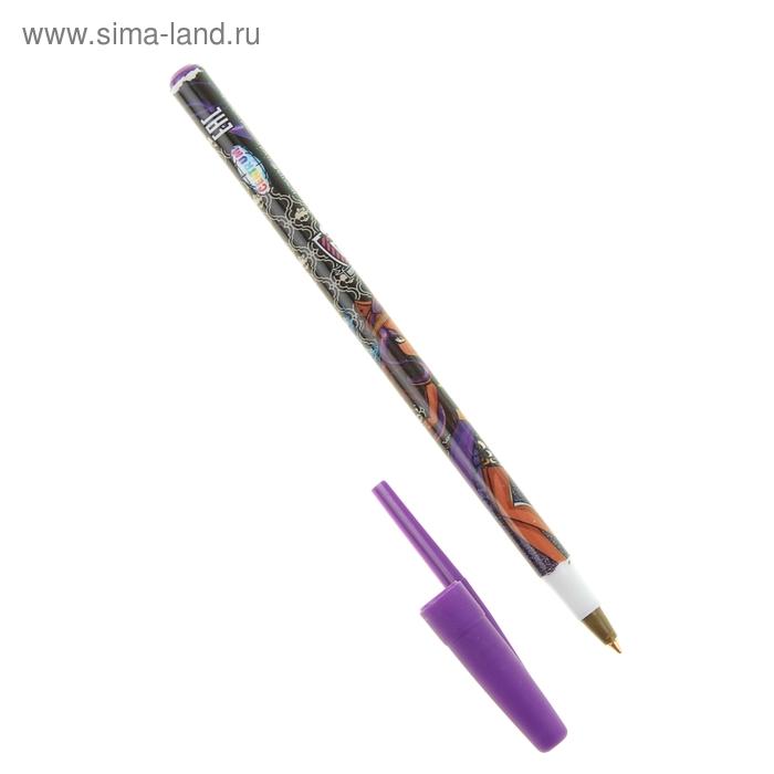 Ручка шариковая дизайн Мonster Нigh, стержень синий, узел 0.7 мм
