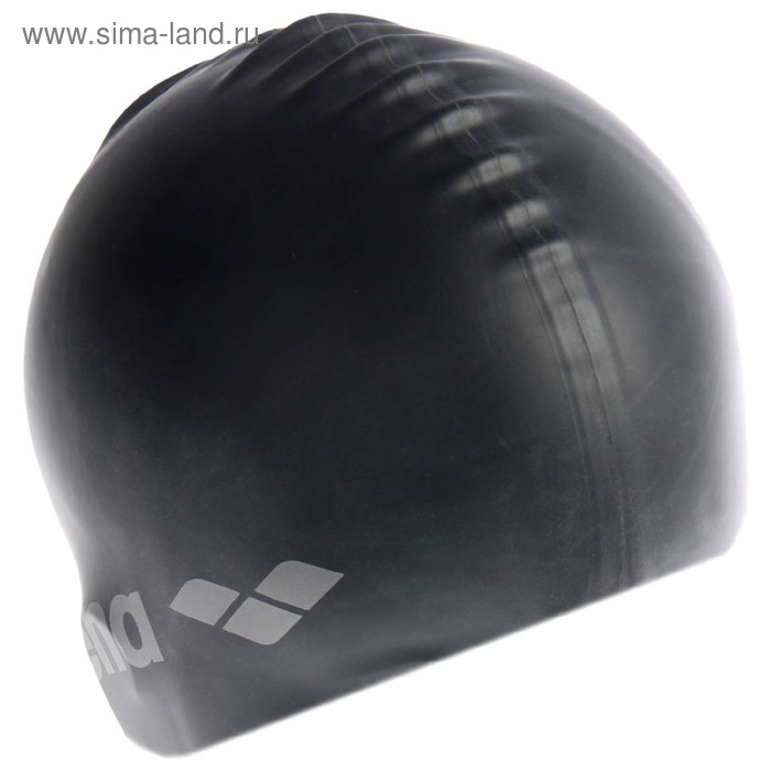 Шапочка для плавания ARENA Classic Silicone, цвет чёрный
