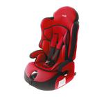 Автокресло-бустер «Прайм Isofix», группа 1-2-3, цвет красный
