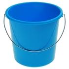 Ведро без крышки 5 л, металлическая ручка, цвет голубая лагуна