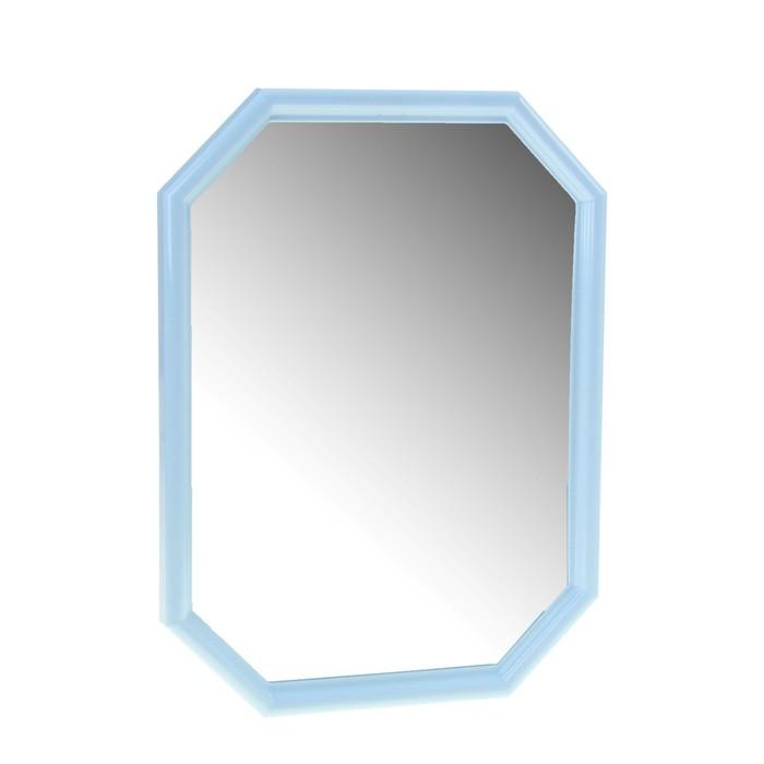 Зеркало Oktavia, цвет голубой