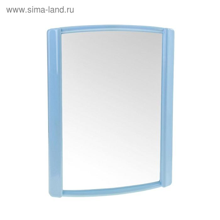 "Зеркало ""Бордо"", цвет светло-голубой"
