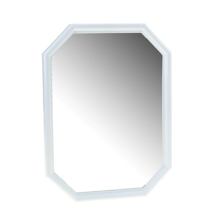 Зеркало Oktavia, снежно-белое