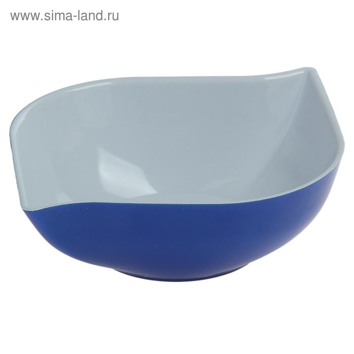 """Салатник 500 мл """"Эстель"""", синий"""