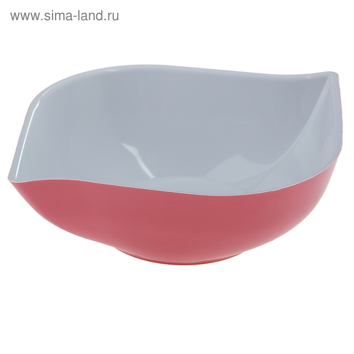"""Салатник 500 мл """"Эстель"""", цвет розовый"""