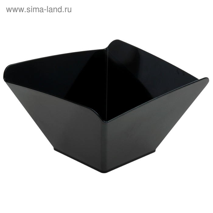 Салатник 700 мл Domino.Sweet, цвет черный