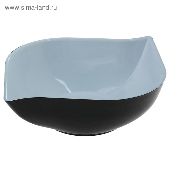"""Салатник 1 л """"Эстель"""", цвет черный"""