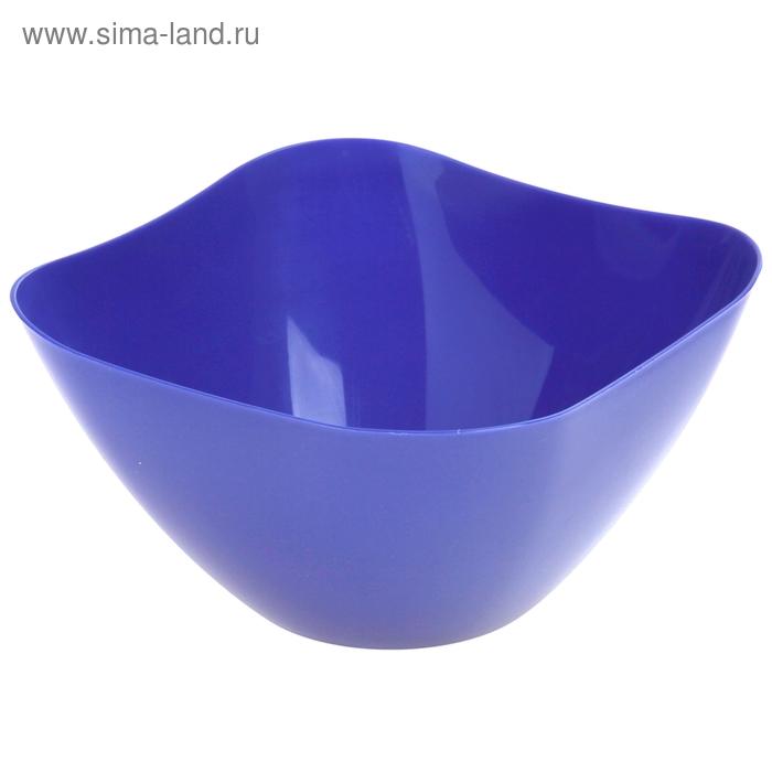 Салатник 2 л Funny, цвет синий