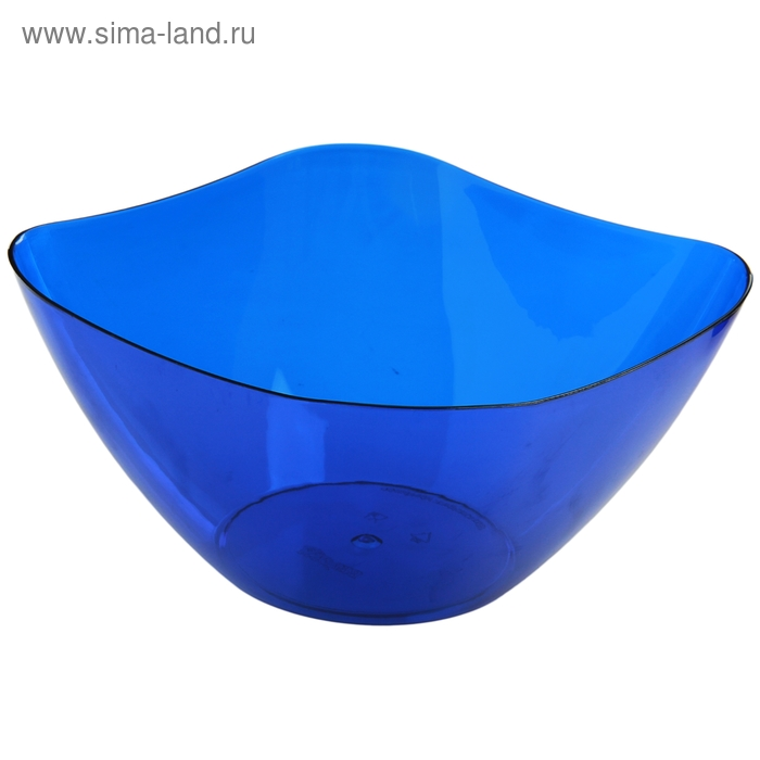 Салатник 3 л Ice, синий