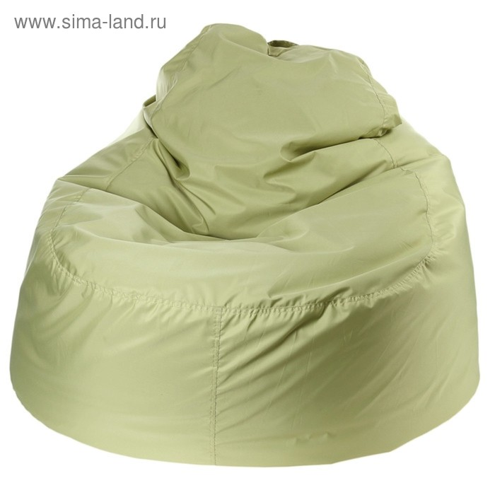 """Кресло-мешок """"Банан"""", d90/h100, цвет оливковый"""