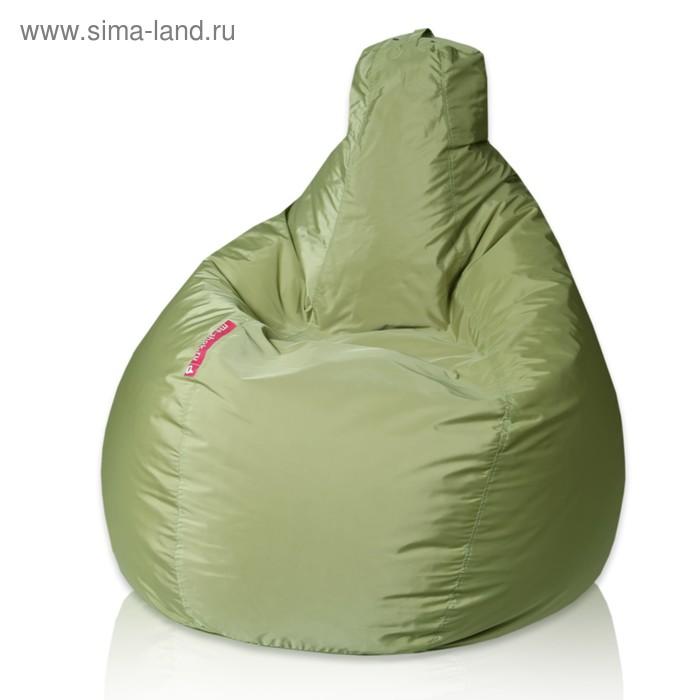 """Кресло-мешок """"Капля"""", М, d100/h140, цвет оливковый"""