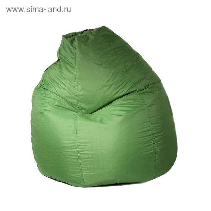 Кресло-мешок универсальное, d90/h120, цвет тёмно-салатовый