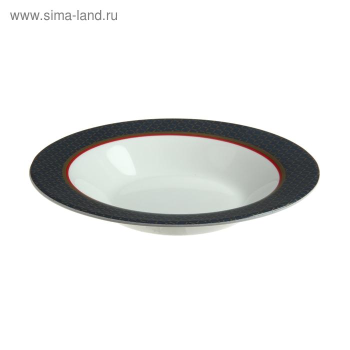 """Тарелка суповая 23 см """"Альто Сапфир"""""""