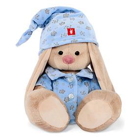 Мягкая игрушка «Зайка Ми» в голубой пижаме