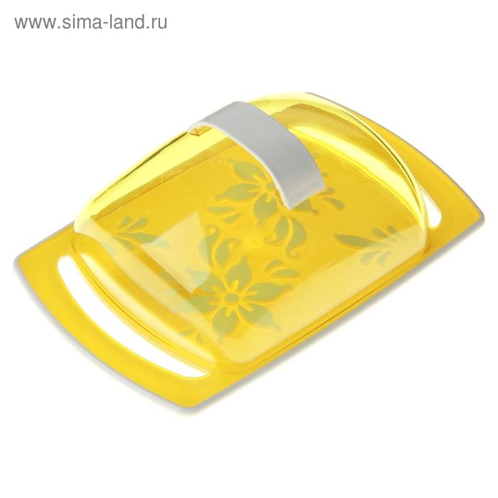 """Масленка """"Премьера"""", цвет желтый"""