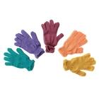 Перчатки вязаные одинарные цветные с13 размер 18, МИКС