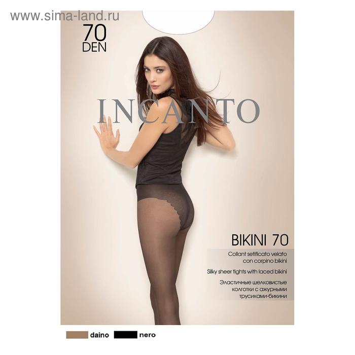 Колготки женские INCANTO Bikini 70 (daino, 4)