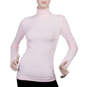 Водолазка женская бесшовная ARTG DOLCEVITA MANICA LUNGA (pale pink, L/XL)