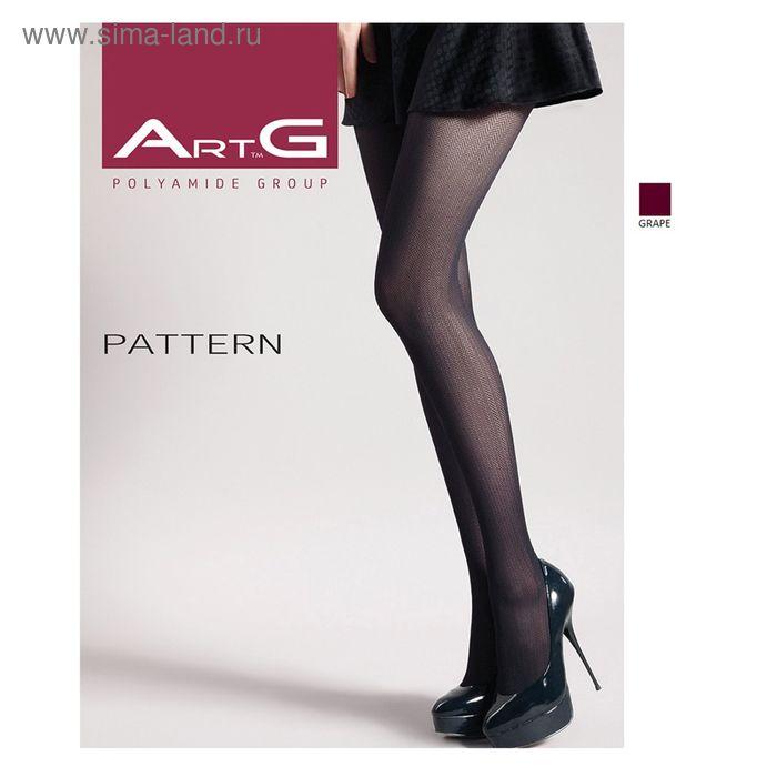 Колготки женские ARTG PATTERN 70 (1) (grape, 3)