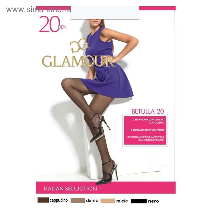 Колготки женские GLAMOUR Betulla 20 (daino, 3)