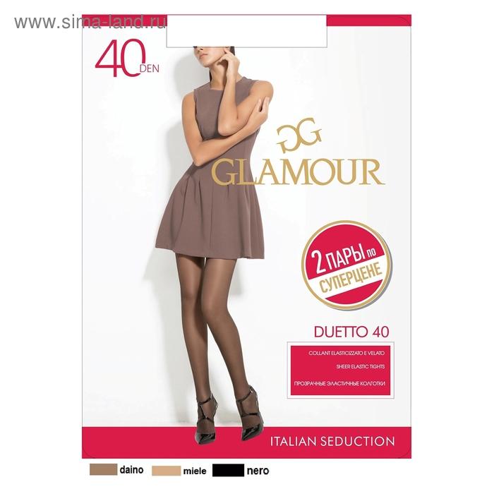 Колготки женские GLAMOUR Duetto 40 (daino, 3)