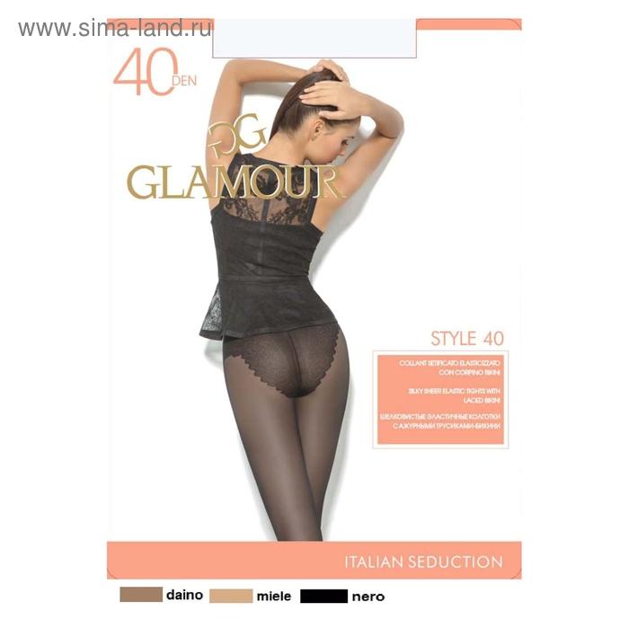 Колготки женские GLAMOUR Style 40 (daino, 4)