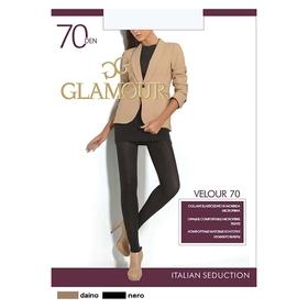 Колготки женские GLAMOUR Velour 70 (nero, 4)