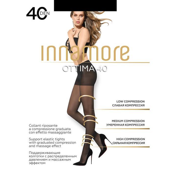 Колготки женские INNAMORE Ottima 40 (nero, 2)