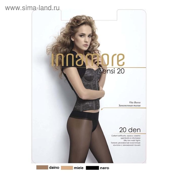 Колготки женские INNAMORE Sensi 20 (nero, 4)