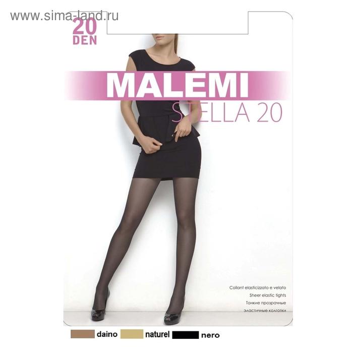 Колготки женские MALEMI Stella 20 (nero, 5)