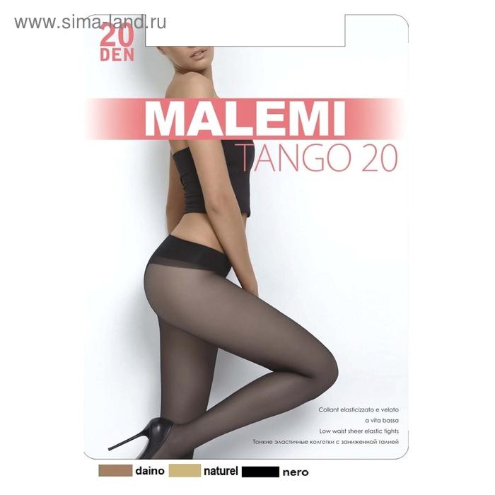 Колготки женские MALEMI, цвет nero (чёрный), размер 4 (арт. Tango 20)